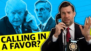 Illegal Georgia Election Phone Call By President Trump?