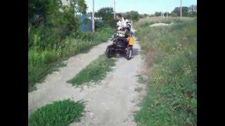 мини-трактор из мотоблока Кентавр
