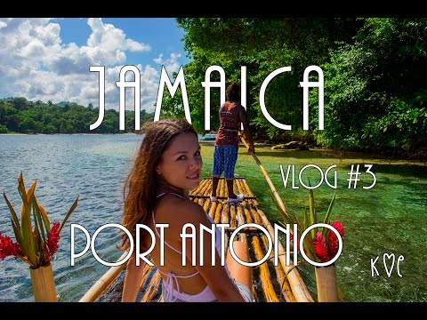 Jamaica  Blue Lagoon, Port Antonio and a real Rasta life 2016 4K