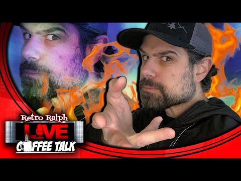 Coffee Talk Podcast w/ Retro Ralph - I'm old & Arcade1up new CMO?! from RetroRalphLIVE