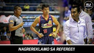 NAGREREKLAMO si James Yap sa mga TAWAG ng Referee | Semis Game 4
