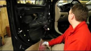 Инструкция по шумоизоляции дверей автомобиля.