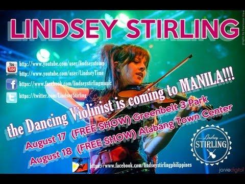 Lindsey Stirling Live in Manila! (08-17-13) (HD)