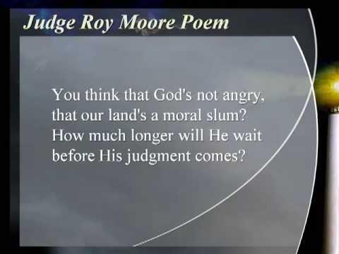 Judge Roy Moore Poem