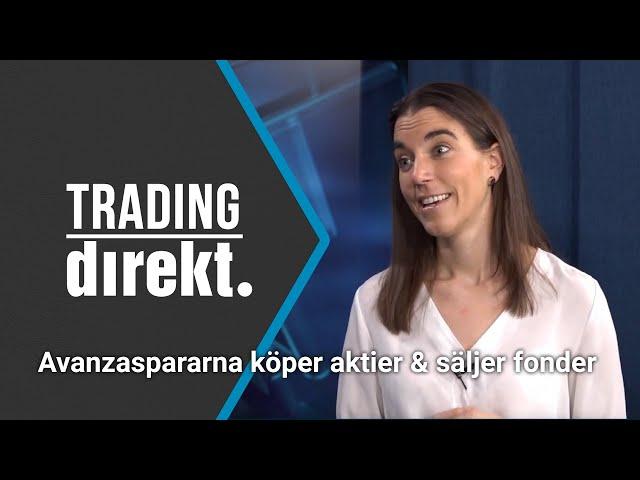 Trading Direkt 2020-03-27: Avanzaspararna köper aktier & storsäljer fonder