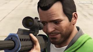 GTA 5 - Can You Shoot Someone Through Water, Tire, TV,..etc? (#2)