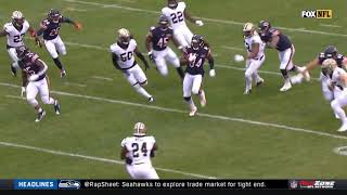 Cordarrelle Patterson 102 Yard Kick Return | Saints vs. Bears | NFL