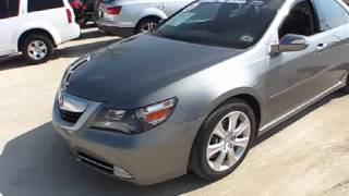 2010 Acura RL Start Up, Exterior/ Interior Review