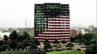 15 storey hotel built in 6 days!