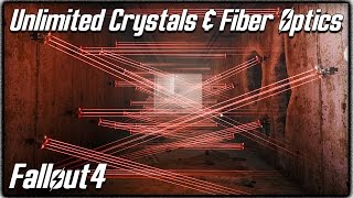 """Fallout 4 - Unlimited """"Crystals & Fiber Optics"""" Location! Easy Way to Upgrade Weapons & Armor!"""