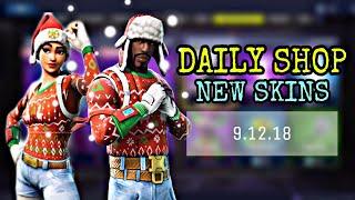 FORTNITE DAILY ITEM SHOP 9.12.18 | CHRISTMAS SKINS BACK DA