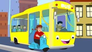 ล้อบนรถบัส | เด็กบ๊องคอลเลกชัน | เพลงไทยสำหรับเด็ก | The Wheels on the Bus | Nursery Rhymes for Kids