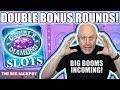 24 Free Games! 💎Double Diamond 💎Bonus Round WIN$! | The Big Jackpot