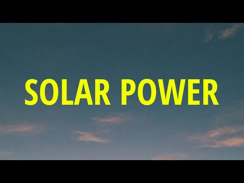 Lorde - Solar Power (Lyrics)