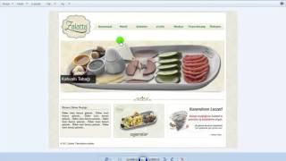 CSS İle Web Sayfası Tasarımı Web Sayfası Oluşturma