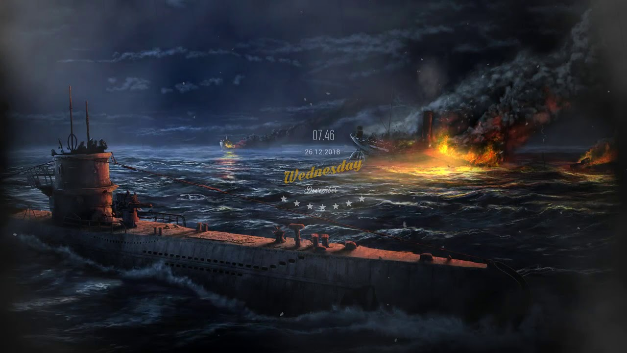 Wallpaper Engine Hearts Of Iron Iv Submarine By Night Steam