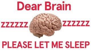 Dear Brain, Let Me Sleep (Song A Day #1705)