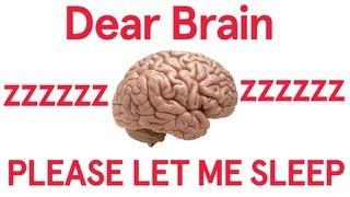 Dear Brain, Let Me Sleep (Song A Day #1705)