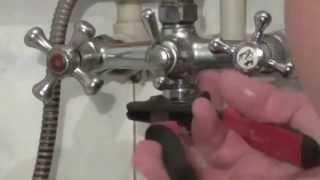 Как отремонтировать смеситель самому. Устранить протекание воды в смесителе