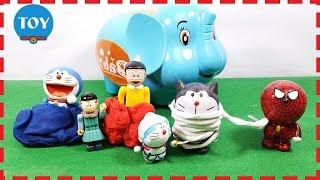 Doremon và Nobita gặp nạn khi đi chơi với bạn voi con đồ chơi trẻ em toy kid