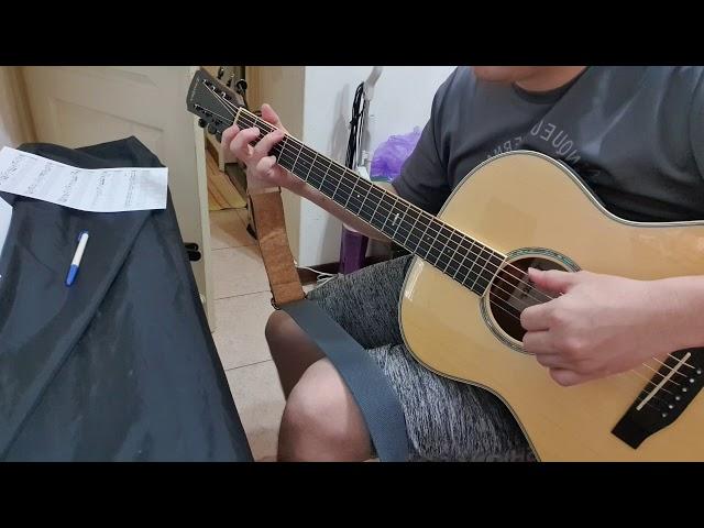 20201023 望春風 盧家宏直播吉他課作業