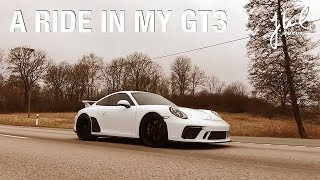 My Second ride in my 991.2 GT3 manual | EP 016