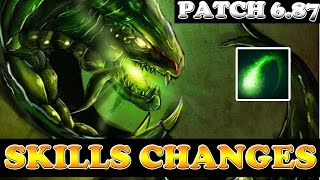 Dota 2 - Patch: 6.87 - Viper Skill Changes