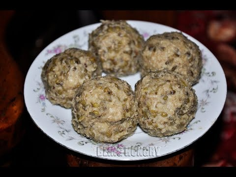 GREEN GRAM SWEET GLOBE BY BEING HUNGRY FROM SRI LANKA