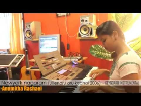Newyork Nagaram Instrumental in Keyboard - Anumitha Rachael - Mylees Academy