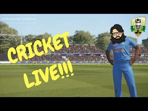 [LIVE] Royal Challengers Bangalore vs England / Ashes Cricket 2017