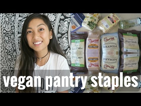 MY VEGAN PANTRY STAPLES