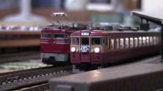 【鉄道模型】国鉄 455(475)系急行型電車【Nゲージ】