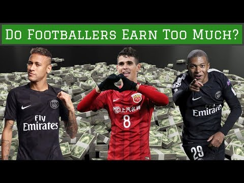 Why Footballers DON'T Earn Too Much Money