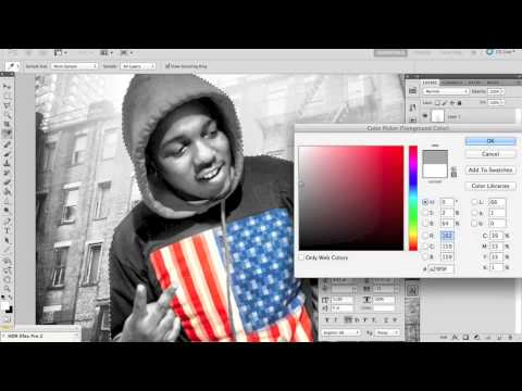 Photoshop CS5 - Making a Mixtape Cover / CD Cover Artwork - YouTube