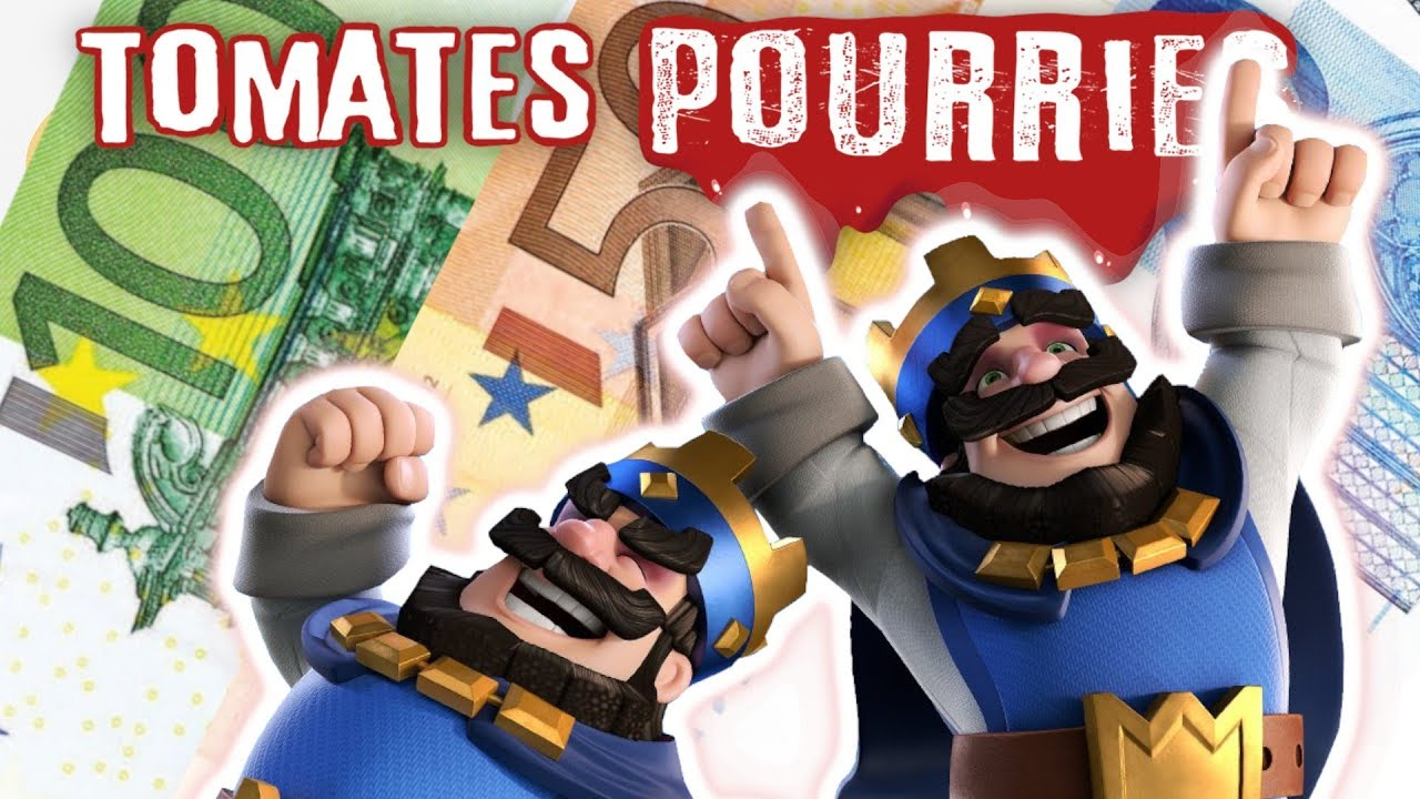 ???? Comment Clash Royale BLANCHIT l'argent sale !! Tomates Pourries !