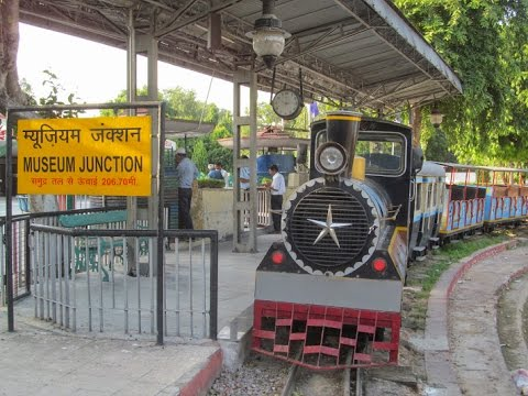 A Joy Ride [TOY TRAIN] at National Railway Museum, New Delhi INDIAN RAILWAYS