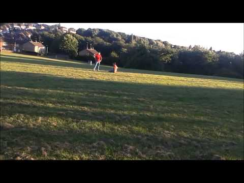 crash test brummy power kiting at mowacre hill leicester