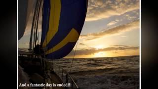 2014-06-02 Sailing from Galapagos to Fatu-Hiva, French Polynesia
