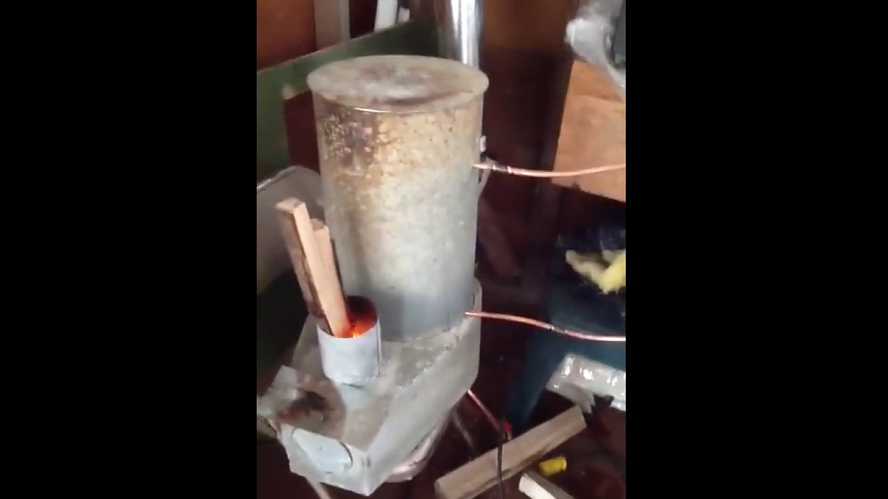 rocket stove water heater test 1 youtube