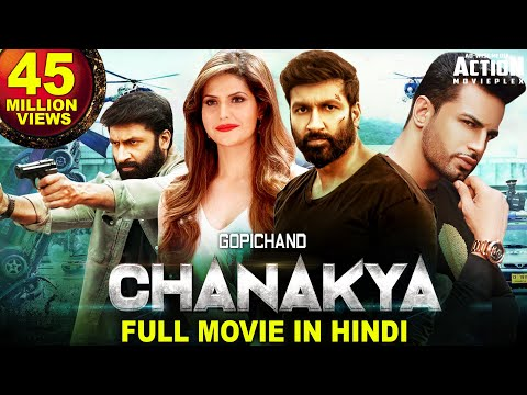 GOPICHAND's CHANAKYA (2020) New Released Hindi Dubbed Full Movie | GOPICHAND | New South Movie
