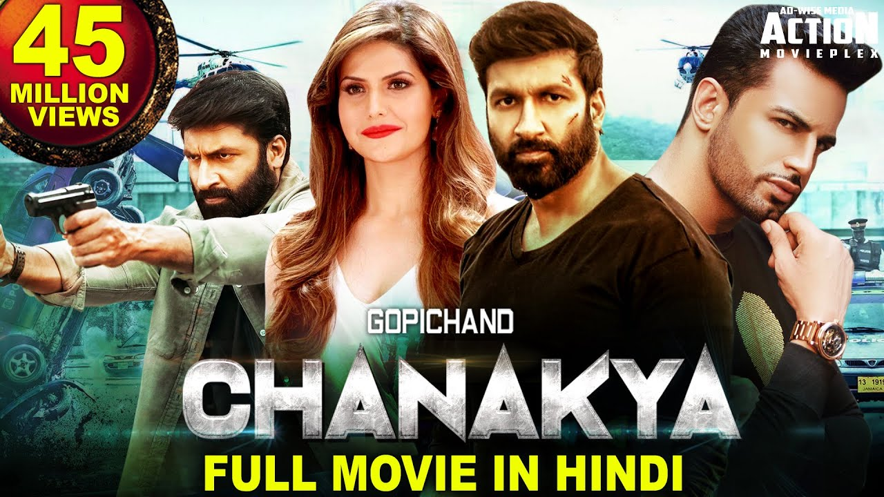 Download CHANAKYA Full Movie In Hindi (2020) New Hindi Dubbed Full Movie | Gopichand Movies In Hindi Dubbed