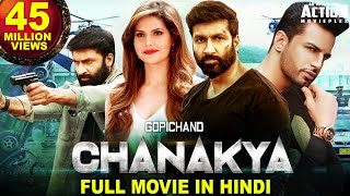 CHANAKYA Full Movie In Hindi (2020) New Hindi Dubbed Full Movie | Gopichand Movies In Hindi Dubbed