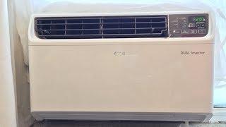 LW1517IVSM LG 14,000 BTU inverter window air conditioner start up