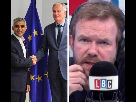 James O'Brien speaks, Sadiq Khan Tells EU: Prepare Brexit Extension, New Referendum Possible