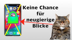 iPhone Apps sperren! Tutorial 2019