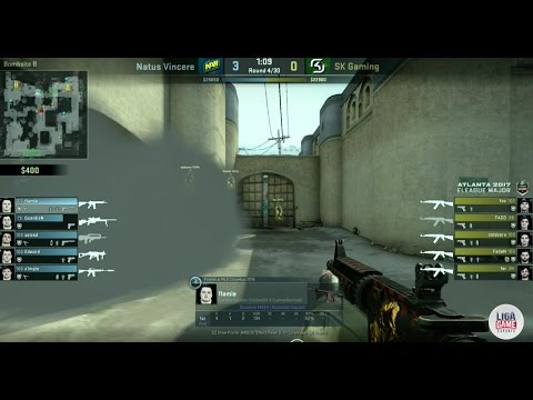 CS GO : NAVI vs SK Gaming @ ELEAGUE Major Atlanta 2017