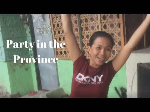 Party in the Province, Sha's Compound in Cotabato Province Southern Mindanao, Philippines