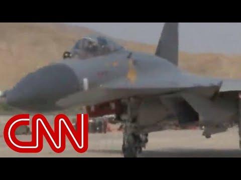 Pentagon: China 'likely' training pilots to target US