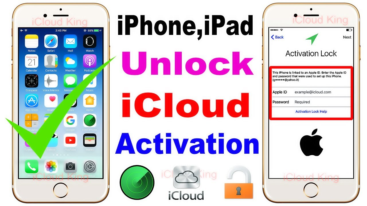 Unlock iphone icloud with imei free