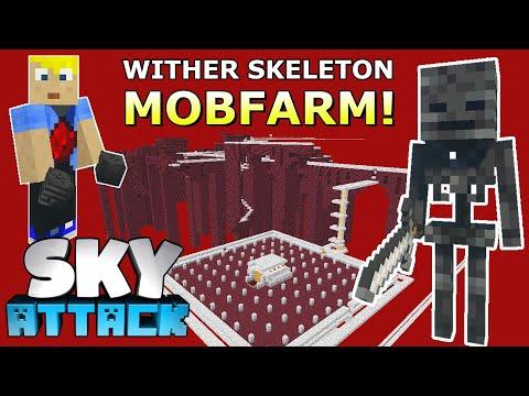 Spark baut Wither Skelett Farm! Massig Köpfe! - Minecraft SKY ATTACK #24